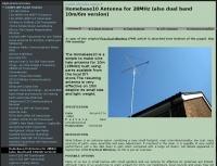 Homebase10 Antenna for 28MHz