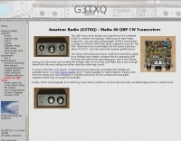 40 QRP CW Transceiver