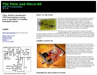 The Pixie and Micro-80