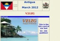 V21ZG Antigua