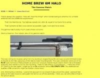 DXZone 6M Halo -- Gamma Match Feed