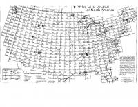 DXZone ARRL Grid Locator Map for N.America