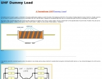 A homebrew UHF Dummy Load