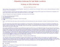 DXpedition Antennas for salt water locations