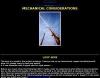 Quad antenna: considerations