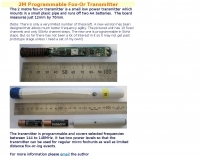 2M Programmable Fox-Or Transmitter