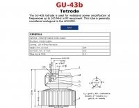 GU-43b Tetrode