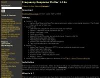DXZone Frequency Response Plotter