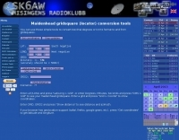 DXZone SK6AW Maidenhead Locator Conversion