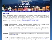 Sierra Nevada Amateur Radio Society