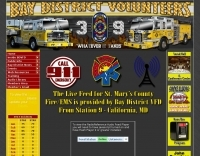 Bay District Volunteer Fire Department live feed