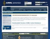 ARRL Contest results database