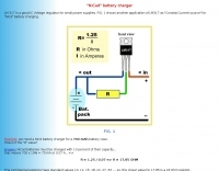 NiCad battery charger plan