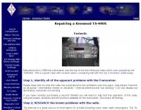 Repairing a Kenwood TS-940S