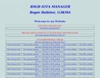 IOTA Manager G3KMA