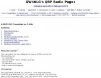 QRP 5 Mhz transceiver
