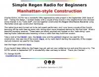 Simple Regen Radio for Beginners