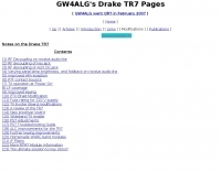 DXZone Drake TR-7 pages