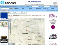 QRZ.com Country Atlas
