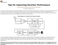 Gain receiver performance