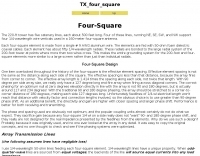TX Four Square Antenna