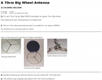 A 70cm Big Wheel Antenna