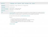 DXZone LogSearch applet by G4ZFE