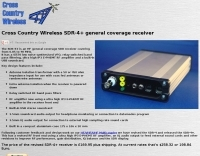 Cross Country Wireless SDR Receiver