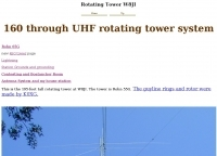 160 through UHF rotating tower system