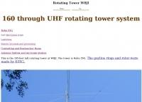 DXZone 160 through UHF rotating tower system