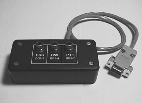 Simple Interfaces for FSK, PTT & CW Keying