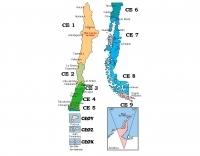 DXZone Ham map of Chile