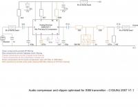 Audio Compressor for SSB