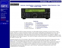 Kenwood TS-590S specifications