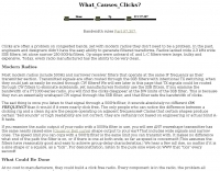 DXZone What cause key clicks