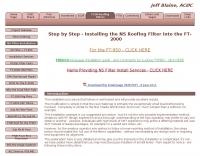 FT2000 Filter Installation