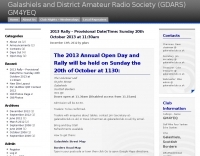 Galashiels and District Amateur Radio Society