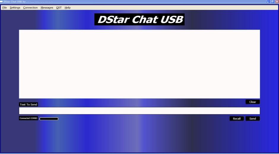 DXZone DStarChat USB