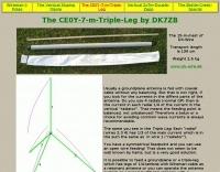 The CE0Y 7 m Triple Leg