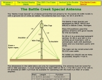 The Battle Creek 40 80 160 m antenna