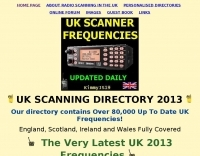 UK Scanner Frequencies