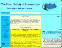 G3EFX Radio Society of Harrow