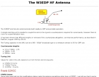 W3EDP HF Antenna