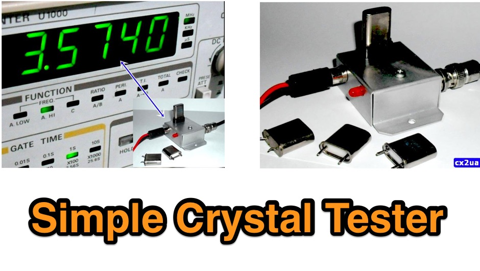 Crystal tester