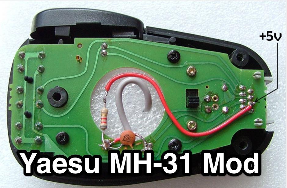 DXZone Yaesu MH-31 Mod