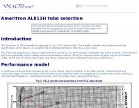 Ameritron AL-811H tube selection