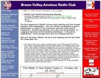 Brazos Valley Amateur Radio Club