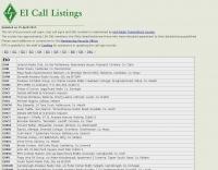 EI Call list