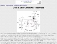 Dual Radio Computer Interface