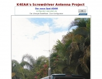 K4EAA's Screwdriver Antenna